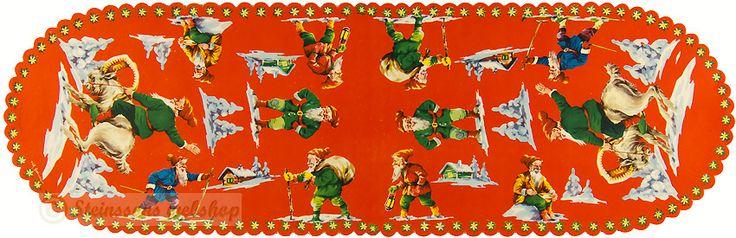 Steinssons,Kiiltäviä Valokuvia,scraps - joulua juliste - 1950-talet Erik Forsman