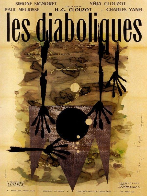 Les diaboliques - Film français de Henri-Georges Clouzot avec Paul Meurisse, Simone Signoret et Véra Clouzot (1943)