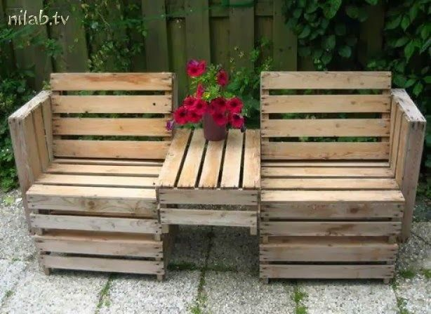 Outdoor Pallet seating