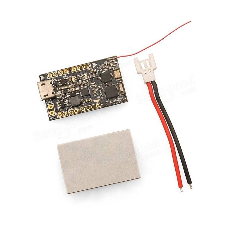 Eachine FRF3_EVO Brushed Flight Control Board Built-in FRSKY Compatible SBUS 8CH Receiver For QX90 QX95 QX90C