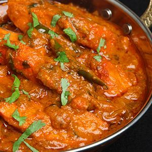 Chicken Tikka Masala is a very popular Indian dish that is best described as chicken in a creamy tomato curry. There are many different versions of this recipe but ours replaces the butter and cream with healthier alternatives. Check out our Blog for the recipe (we've included vegetarian options too)