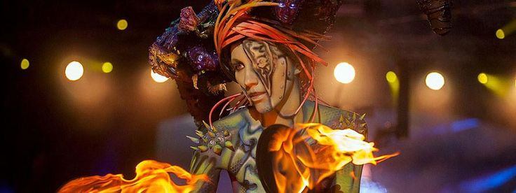Acknowledged as having founded the modern bodypainting art movement, the annual World Bodypainting Festival has been stunning guests with human works of art since 1998. Set on a picturesque peninsula in the middle of Pörtschach...