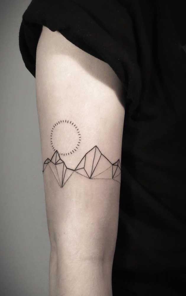 Tatuagens Tumblr: estilos para seguir e 40 fotos inspiradoras | Tatuagem geometria, Tatuagem geométrica, Jovens tatuados