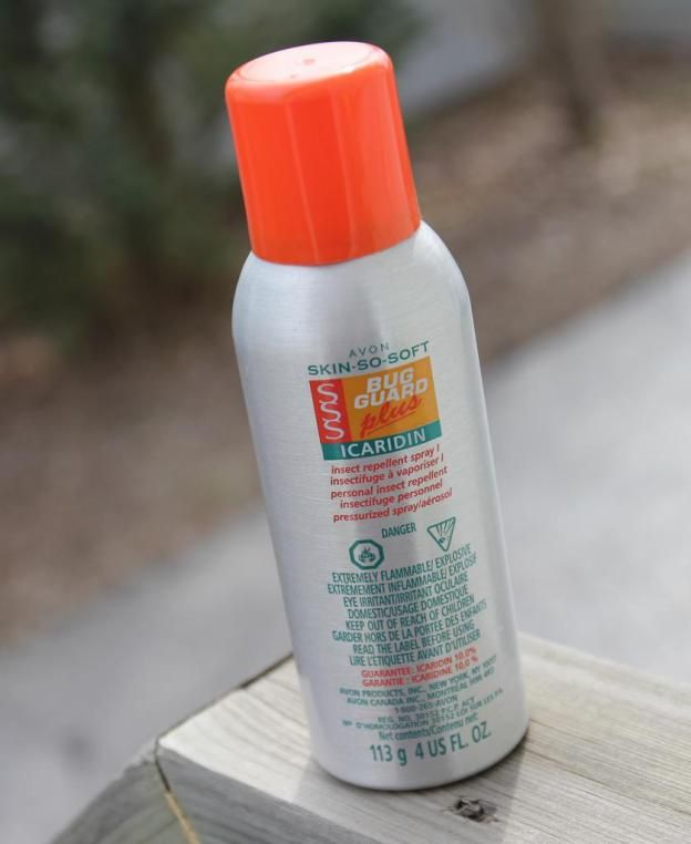 Avon Skin So Soft Bug Guard Plus Icaridin Insect Repellent Spray