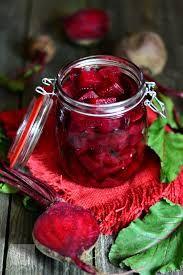 Imagini pentru sfecla rosie cu hrean pentru iarna
