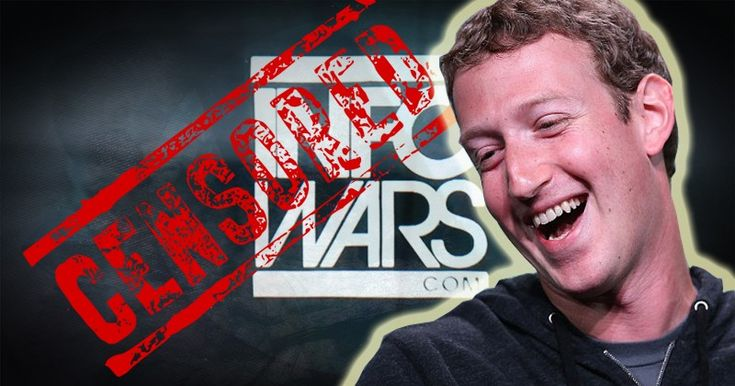 """Facebook is blocking links from Infowars.com being posted by users by declaring them """"spam"""" in a chilling example of how the social media giant is using the excuse of combating """"fake news"""" to censor anti-establishment content."""