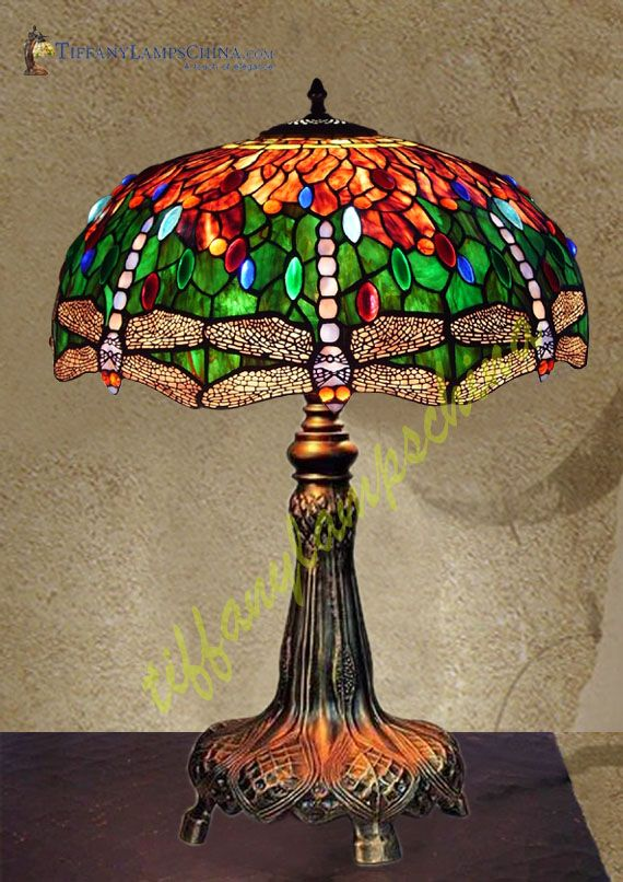 Best 25+ Tiffany lamps ideas on Pinterest Tiffany lamp shade, Stained glass lamps and Stained ...