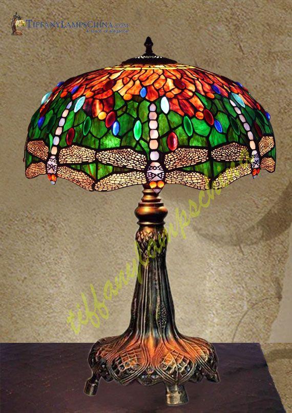 Tiffany Lamps | ... Tiffany_Lamp-S22KK2 - Sculpture Lamps - Manufacturer of Modern Tiffany