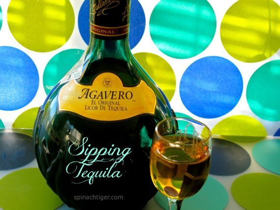 Agavero, a Sipping Tequila, not your regular Tequila. You sip like a brandy.