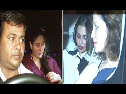 Kareena Kapoor & Malaika Arora spotted at Amrita Arora's house.