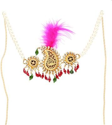 Shaatoos Jewellery Sarpech for Turban Hair Chain @ Rs.8500.
