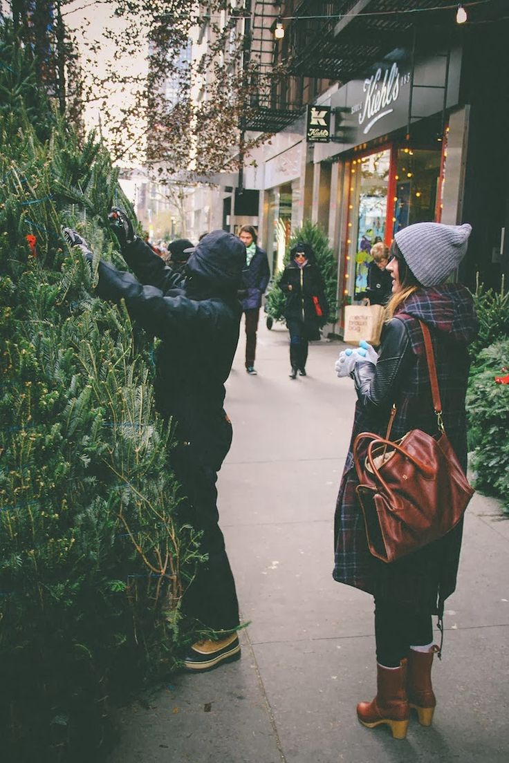 For the love of Community. Wouldn't it be awesome to walk out your front door into this environment during the holidays!!! CITY LOVE! I'll take your tallest tree, sir.