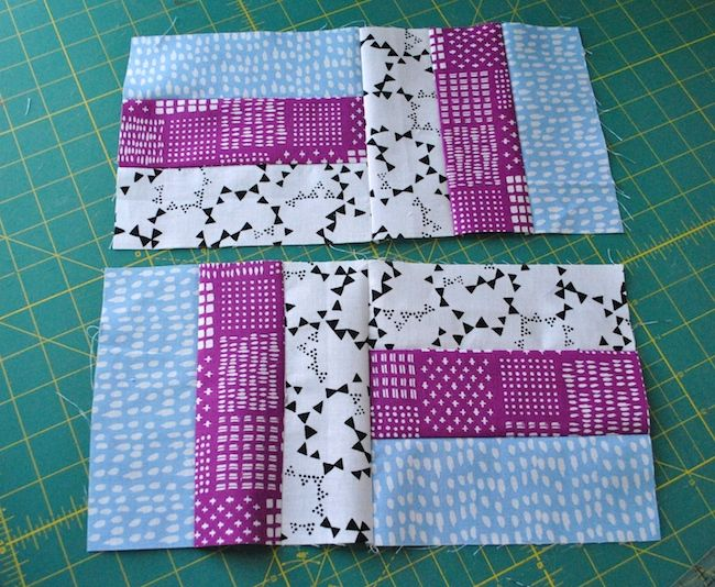 How To Sew A Traditional Rail Fence Quilt Block Rail