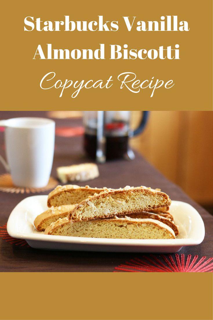 I love biscotti! great treat with coffee.  #ad #biscotti #almond #copycat #recipe #starbucks #breakfast #coffee