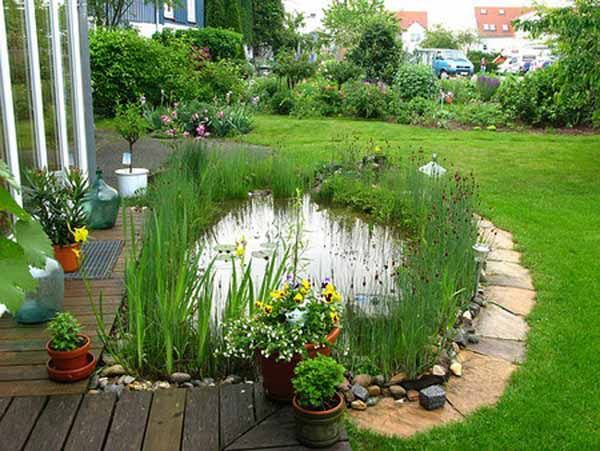 Best 25 small ponds ideas on pinterest small fish pond for Tranquil garden designs