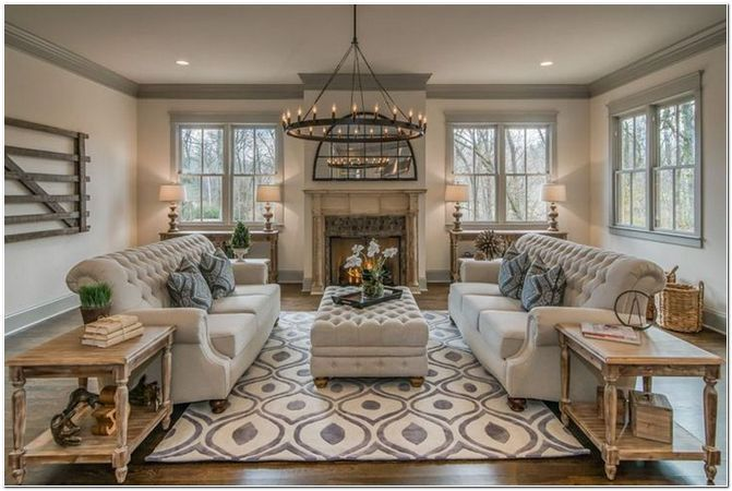 64 Beautiful Traditional Living Room Decor Ideas And Remodel