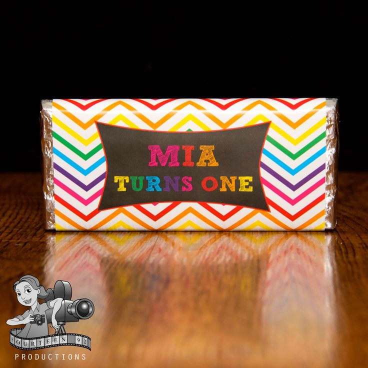 Chevron Rainbow Chocolate Wrappers by fourteen92prod on Etsy https://www.etsy.com/au/listing/487079855/chevron-rainbow-chocolate-wrappers