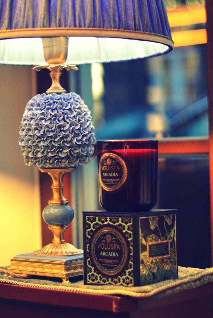 """Aukščiausios kokybės VOLUSPA žvakės persiškų kilimų galerijoje """"Lauros namai"""" #voluspa #candle #homefragrance #warm #home #colors"""