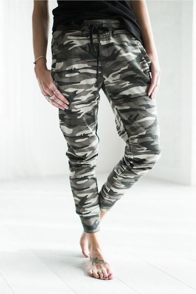 Shop for these joggers and other trendy new arrivals at InspireL'Amour.com. Share styling pics with ILA. Free shipping - see site for details.