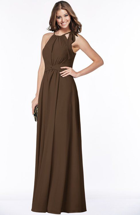 62 best brown weddings images on pinterest brides for Brown dresses for a wedding