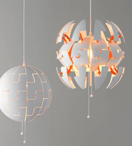 I love the playfulness of this lamp and its Star Wars-feel.. Just wish they would have produced it in another color than orange..  IKEA katalog 2015