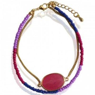 Armband Combi pink