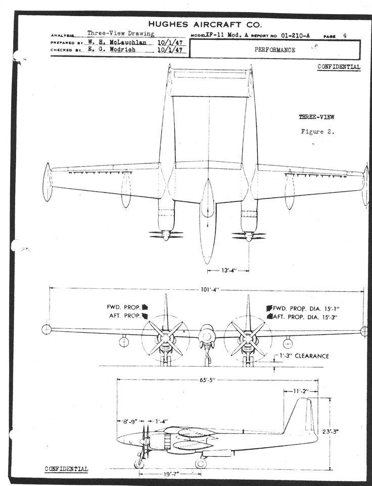 Авиатор Говард Хьюз и его самолёт D-2, D-5, XA-37, XP-73, XF-11