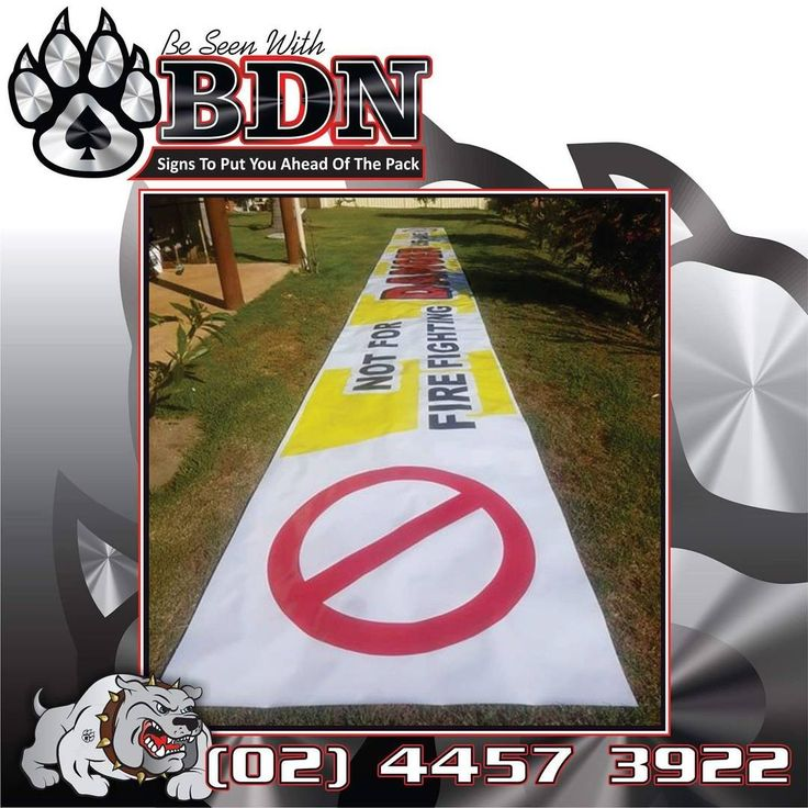 BDN Signs Ulladulla did the region's biggest vinyl banner.  Ulladulla  Lake Tabourie  Banner Signs Graphic Designer