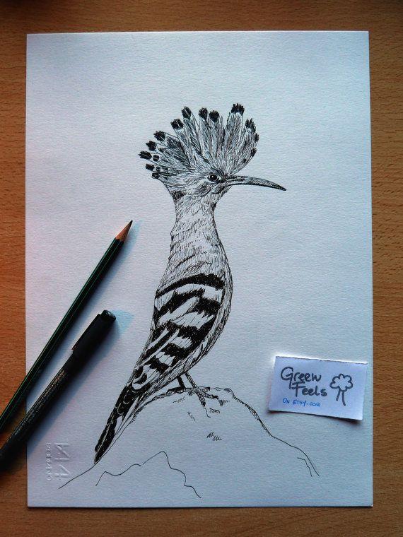 Disegno naturalistico fatto a mano pennarello a di GreenFeels
