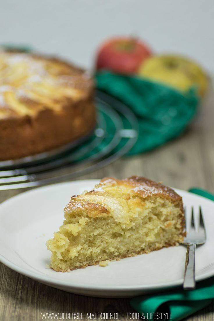 Rezept für Apfelkuchen mit Rührteig schnell einfach backen | Recipe for simple applecake just mixed together
