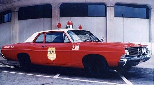 1968 Ford 500. Philadelphia Police Department...