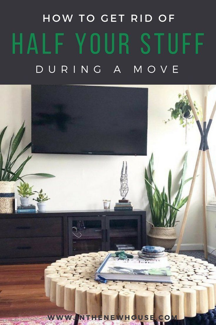how to get rid of half your stuff when moving organize your move rh pinterest com