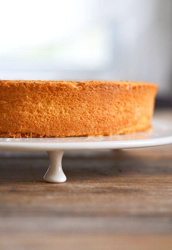 Gluten Free Sponge Cake - excited to try this simple cake and serve as I would angel food in different ways