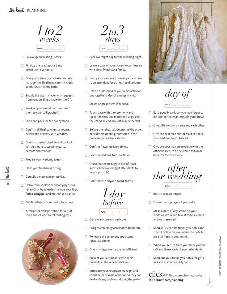 Best Planning  Timelines Images On   Dream Wedding