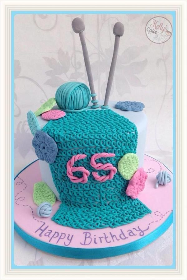 Knitting Cake Ideas : Quilt sewing knitting themed cakes a collection of
