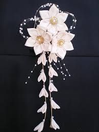 kanzashi wedding bouquets - Google Search