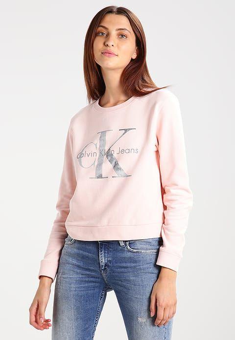 Calvin Klein Jeans HARPER TRUE ICON - Sweatshirts - peachy keen - Zalando.dk