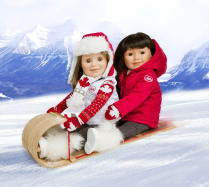 "Maplelea dolls are 18"" ""Canadian Girls"" with their own stories, clothing, and accessories. They are AG sized dolls."