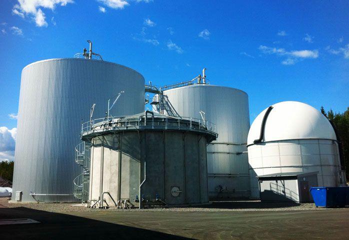 Prefab bassäng för biogasanläggning Mosserud.  www.c3c.se