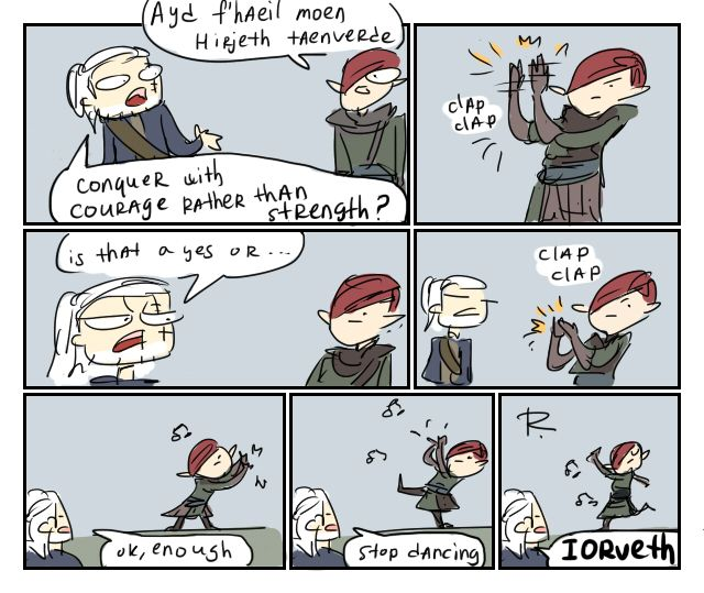 The Witcher 2, doodles 5 by Ayej