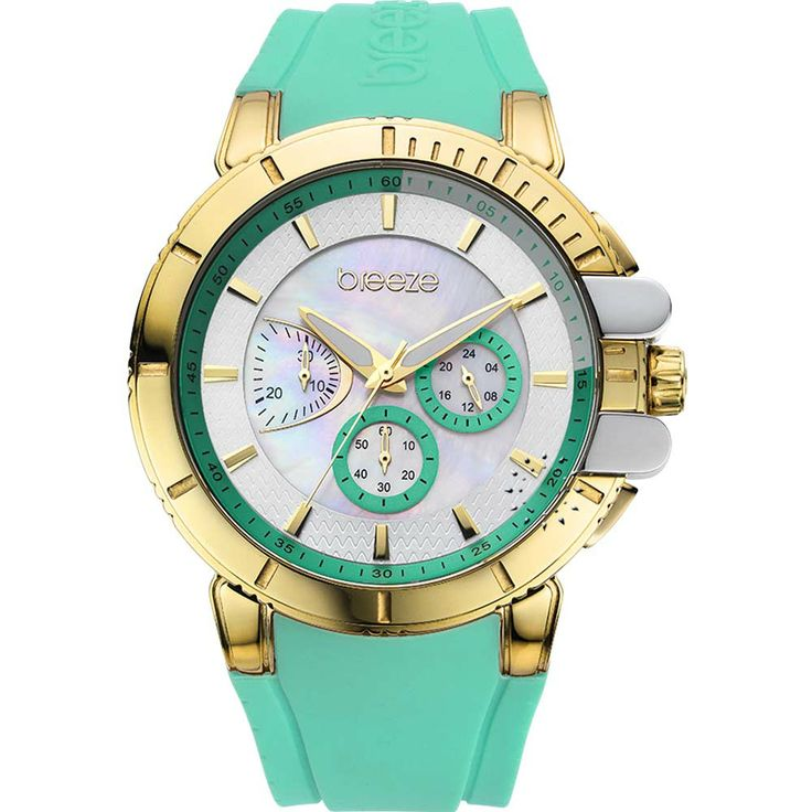 BREEZE 3D Shadow Chrono Green Rubber Strap Τιμή: 165€ http://www.oroloi.gr/product_info.php?products_id=30537