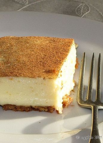 Easy No Bake Milk Tart — It is divine! ♥ #SouthAfrican