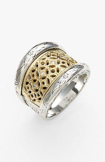 Konstantino 'Diamond Classics' Diamond Filigree Ring available at #Nordstrom