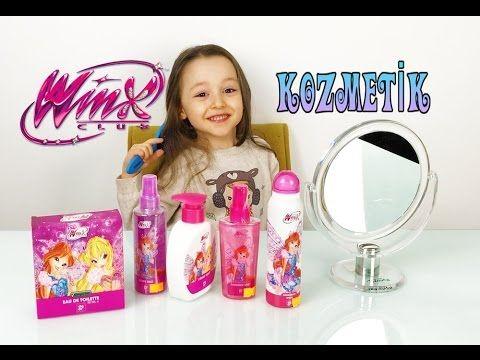 Öykü Winx Bakım Ürünlerini Açıyor