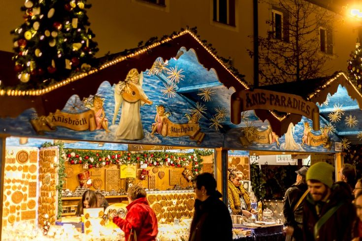 Christmas Market, Basel, Switzerland. I miss it!
