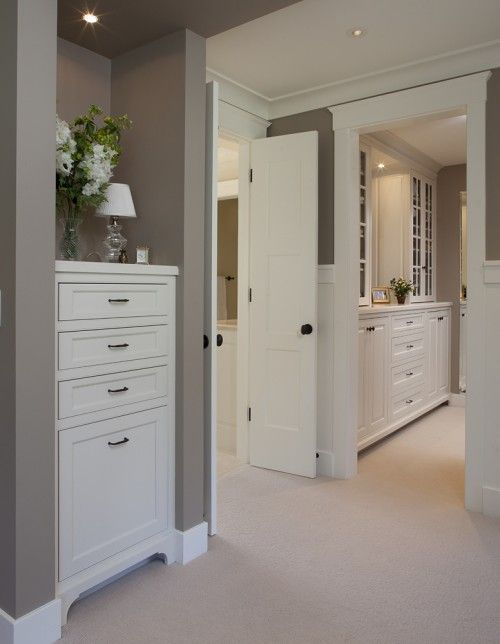 Love the built insDecor, Wall Colors, Ideas, Closets Design, Master Bedrooms, Master Closet, House, Painting Colors, Benjamin Moore