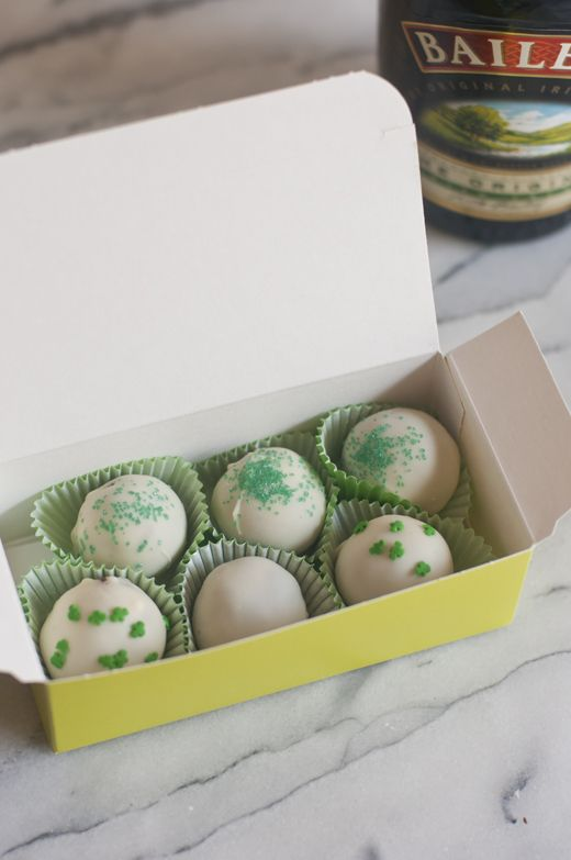 who wouldn't love a box of Bailey's truffles for St Patrick's Day?! From @Susan Salzman(The Urban Baker)
