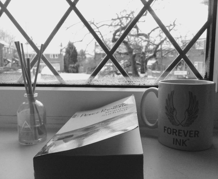 England mood and a good book  #england #leeds #queenofthesouth #arturoperezreverte #winter #books #reading #blackandwhite #mood #vacantion #lareinadelsur #window #view