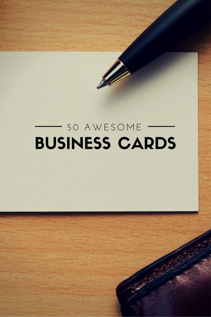 158 best Business Card Ideas images on Pinterest | Business card ...
