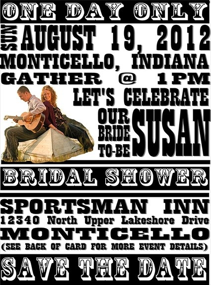 39 best Rock u0027n Roll Bridal Shower images on Pinterest - invitations that look like concert tickets